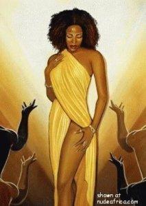 afrian woman