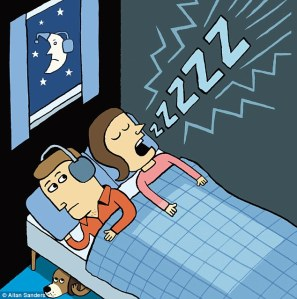 snoring spouse