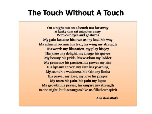 The touch without a touch